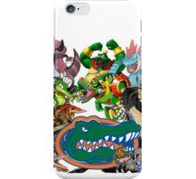 University of Florida Gator Gamer Shirt iPhone Case/Skin