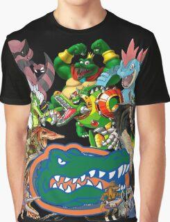 University of Florida Gator Gamer Shirt Graphic T-Shirt