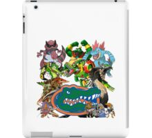University of Florida Gator Gamer Shirt iPad Case/Skin