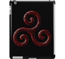Triskele -red iPad Case/Skin