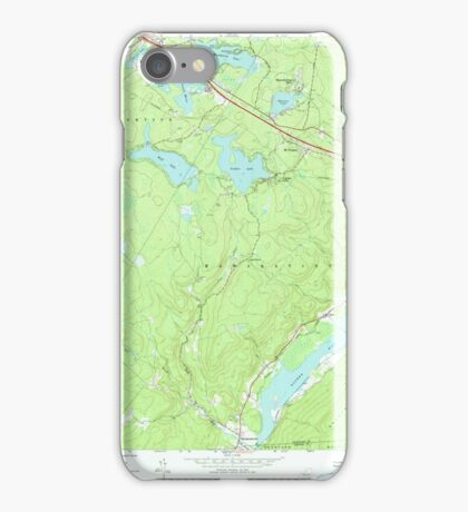 New York NY Yankee Lake 137050 1966 24000 iPhone Case/Skin