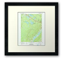 New York NY Yankee Lake 137050 1966 24000 Framed Print