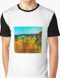 Woodend Lancefield Road Rochford VIC Australia Graphic T-Shirt