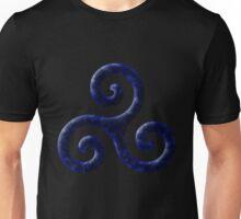 Triskele -blue Unisex T-Shirt