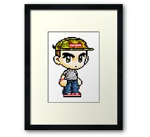 Pixel Hypebeast  Framed Print