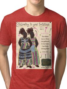 Following in your Footsteps Tri-blend T-Shirt