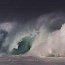 Winter Waves At Waimea Bay 15 by Alex Preiss
