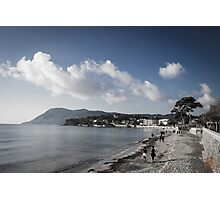 Beach Landscape Southern France Photographic Print