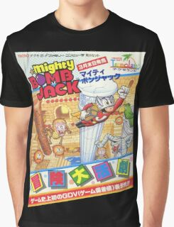 Mighty Bomb Jack Graphic T-Shirt