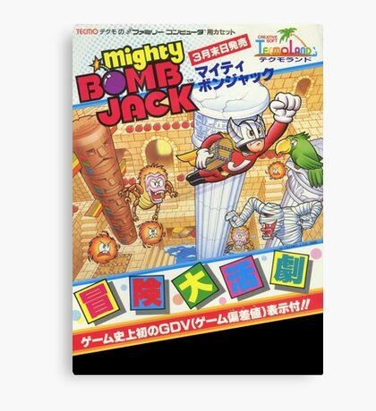 Mighty Bomb Jack Canvas Print