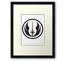 Jedi Order Symbol Framed Print
