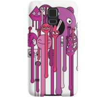 melting faces  Samsung Galaxy Case/Skin