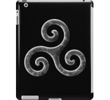 Triskele -b&w iPad Case/Skin