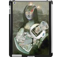 Mona With Christ Child 2. iPad Case/Skin