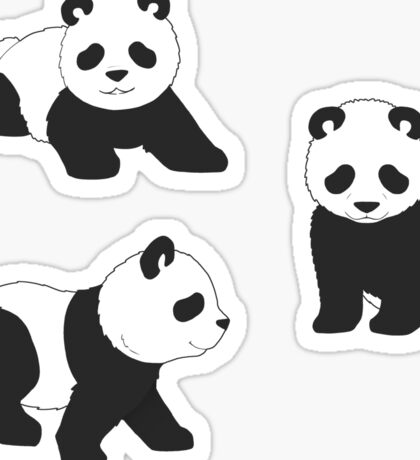 Tiny Panda Sticker