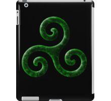 Triskele -green iPad Case/Skin