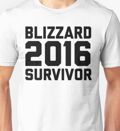 Blizzard 2016 Survivor Unisex T-Shirt