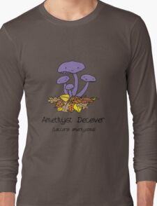 Amethyst deceiver Long Sleeve T-Shirt