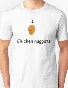 I Heart Chicken Nuggets Unisex T-Shirt