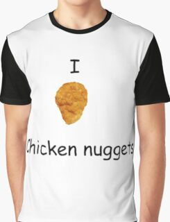 I Heart Chicken Nuggets Graphic T-Shirt