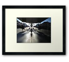 Window Reflection,Top Ryde,Australia 2014 Framed Print