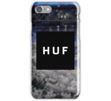 H U F - Phone Case (White / Blue) iPhone Case/Skin