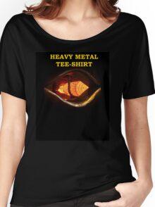 Heavy Metal Tee Shirt Women's Relaxed Fit T-Shirt