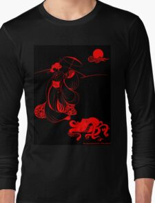 Geisha at Midnight Long Sleeve T-Shirt
