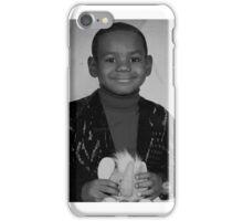 LeBron James (Kid BW) iPhone Case/Skin