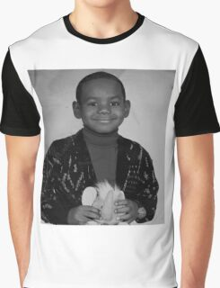LeBron James (Kid BW) Graphic T-Shirt