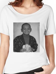 LeBron James (Kid BW) Women's Relaxed Fit T-Shirt