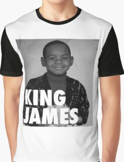 Lebron James (KING JAMES) Graphic T-Shirt