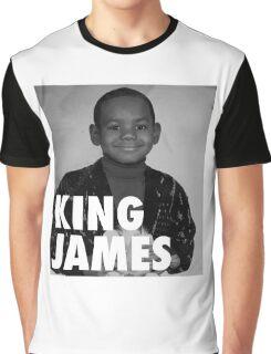 Lebron James (KING JAMES) Graphic T-Shirt