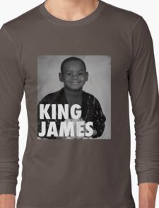 Lebron James (KING JAMES) Long Sleeve T-Shirt