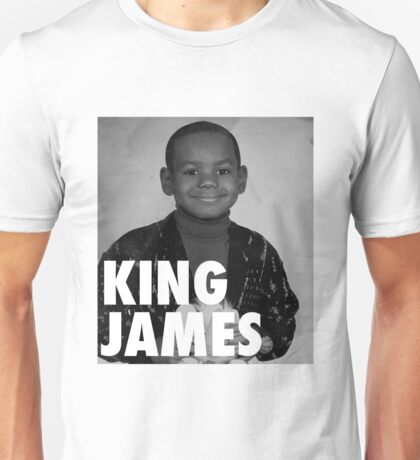 Lebron James (KING JAMES) Unisex T-Shirt