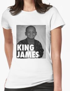 Lebron James (KING JAMES) Womens Fitted T-Shirt