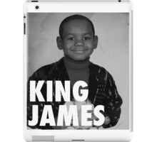 Lebron James (KING JAMES) iPad Case/Skin