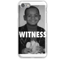 LeBron James (Witness) iPhone Case/Skin