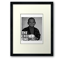 LeBron James (The Chosen One) Framed Print
