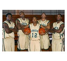 LeBron James (High School Team) by iixwyed