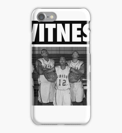 LeBron James (High School Witness) iPhone Case/Skin