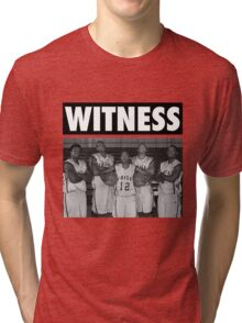 LeBron James (High School Witness) Tri-blend T-Shirt