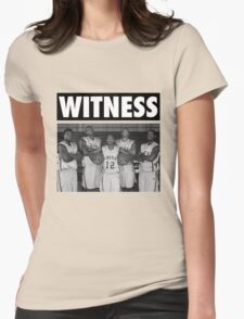 LeBron James (High School Witness) Womens Fitted T-Shirt