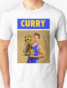 Stephen Curry (Championship Trophy) T-Shirt
