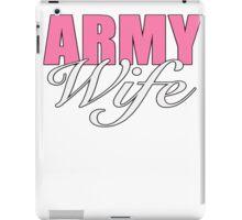 ARMY WIFE iPad Case/Skin