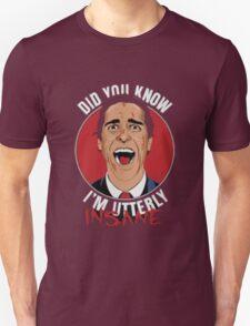 American Psycho Utterly Insane  T-Shirt