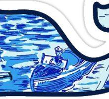 Lilly Pulitzer printed Vineyard Vines whale Sticker