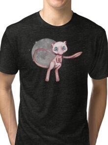 Mew in space Tri-blend T-Shirt
