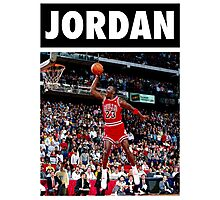 Michael Jordan (Dunk) Photographic Print