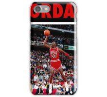 Michael Jordan (Dunk Red) iPhone Case/Skin